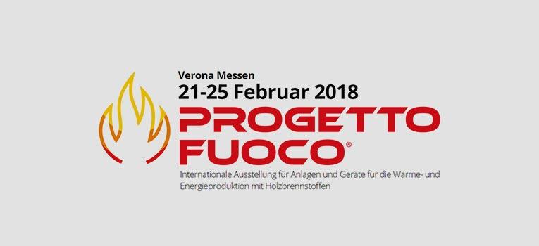 """Neuigkeiten von der Fachmesse """"Progetto Fuoco"""""""